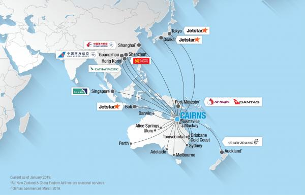 3373ec16acbc Domestic   International Destinations » Cairns Airport