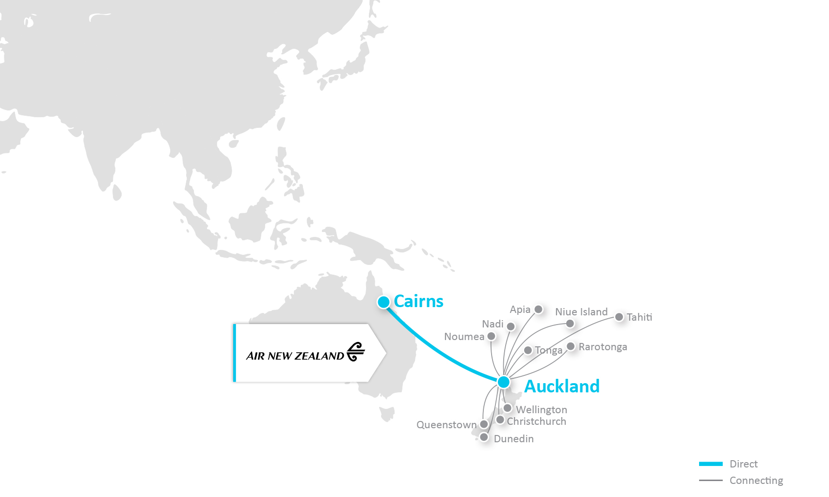 Check for direct » Cairns Airport